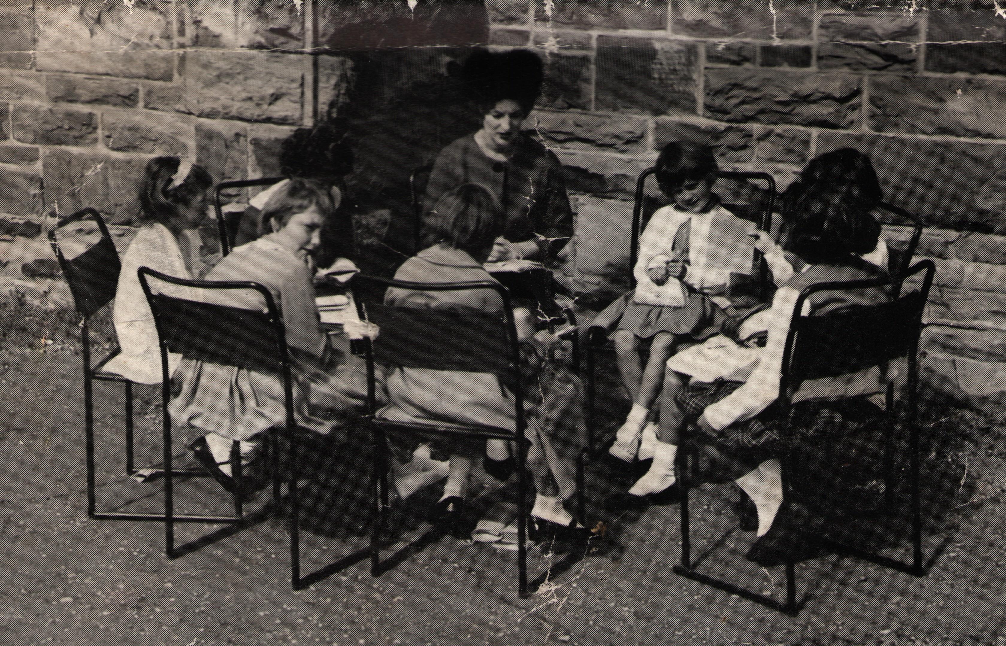 Girls class 1963
