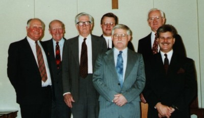 Members of St John's Session (elders) in November 1995